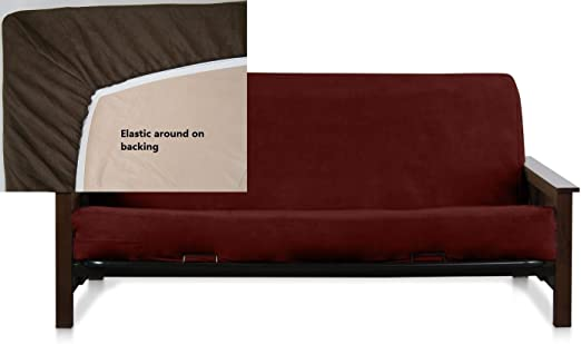 Octorose ® Bonded Micro Suede Easy Fit Fitted Futon Covers in More Color /& Size