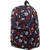 Marvel Deadpool Bag Sublimated Backpack - Deadpool Backpack Great Deadpool Gift