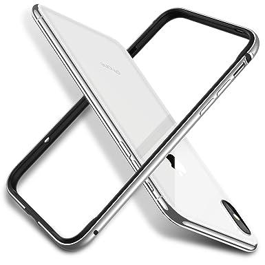 newest collection 13e40 dd6ff RANVOO iPhone X Bumper Case, iPhone XS Bumper Case, Metal Aluminum ...
