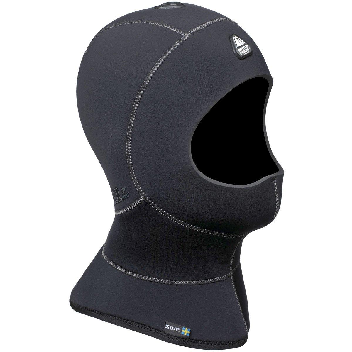 Waterproof H1 5/7mm Vented Anatomical Hood, Small by Waterproof