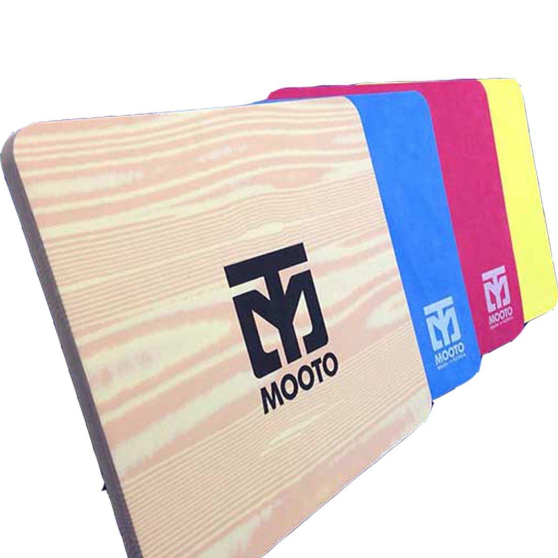 Mooto EVA Board for Taekwondo Breaking Tile Korea Gym Poomsae 1EA (Red)