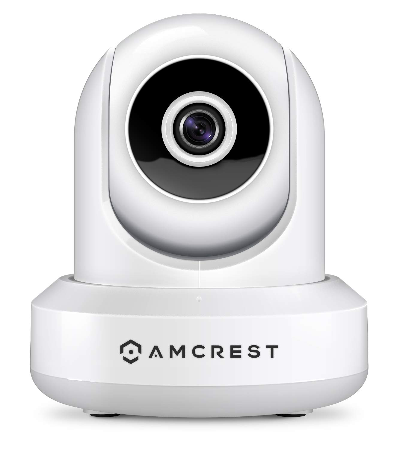 Amcrest 1080P WiFi Security Camera 2MP Indoor Pan/Tilt Wireless IP Camera, IP2M-841W (White) by Amcrest