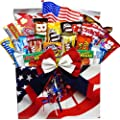 All American Snacker Gift Box of Candy and Junk Food Treats