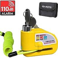 FD-MOTO 110dB Candado de Disco Moto con Alarma