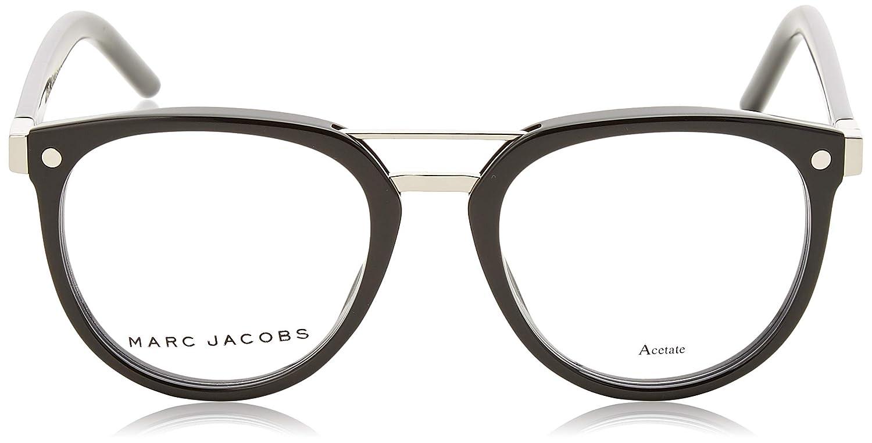 de6a32e9cce0 Amazon.com: Marc Jacobs Marc 19 0807 Black Eyeglasses: Clothing