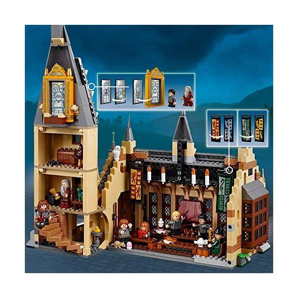 Harry Potter - La Sala Grande di Hogwarts, 75954 2 spesavip