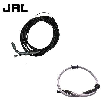 jrl 60 cm combustible línea & motorizado bicicleta Cable del acelerador y cable de embrague 49