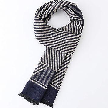 d5efacb06459 Relddd Echarpes Hommes Hommes Hiver New s écharpe Affaires Haute qualité  épaisse écharpe Cadeaux Cadeau 180x30cm