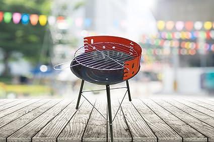 BBQ Barbacoa Carbón Vegetal Barbecue Grill Barbacoa esférica para jardín y terraza – Diferentes tamaños y