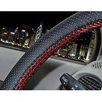szss-car Universal piel de microfibra Auto Car Steering