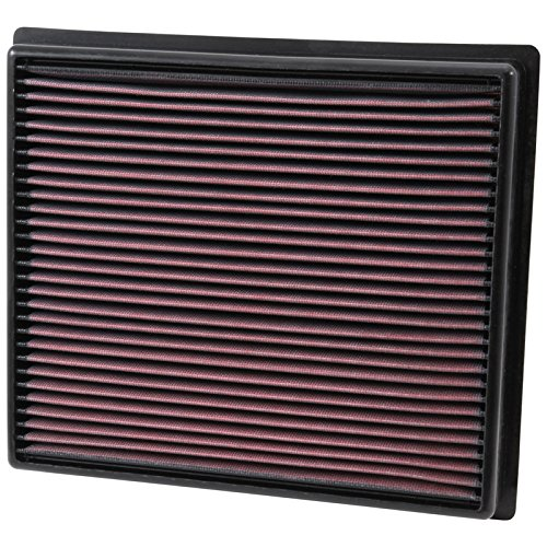 K&N 33-5017 High Performance Replacement Air Filter for 2014-2017 Toyota Tacoma/Tundra/Sequoia V6/V8