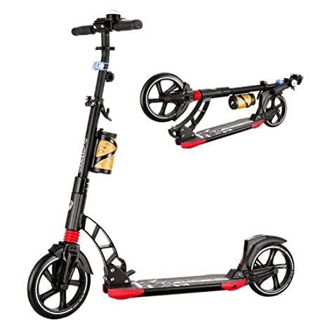 Scooter Plegable para Adultos 2 Rondas Súper Portador de ...