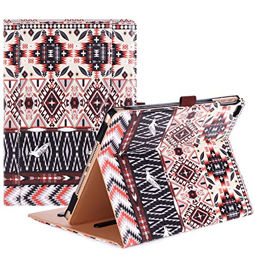 - ProCase iPad 9.7 Case 2018/2017 iPad Case - Stand Folio Cover Case for Apple iPad 9.7 inch, Also Fit iPad Air 2 / iPad Air -Aztec2