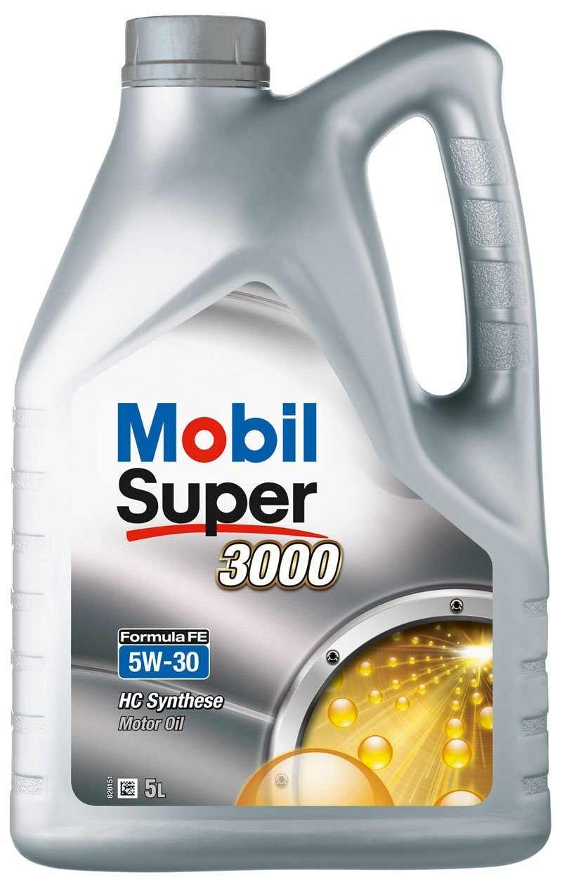 Mobil 1 - Olio per motore Mobil Super 3000 Formula FE 5W-30, 5 litri JMC 151525