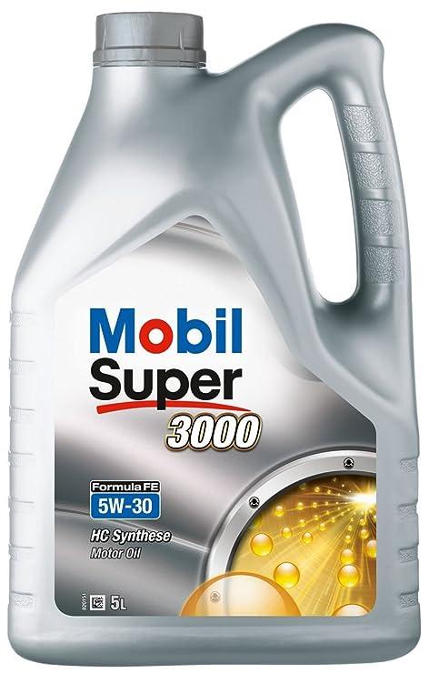 Mobil 1 151525 Super 3000 X1 Formula FE 5W-30 Aceites de Motor para Coches