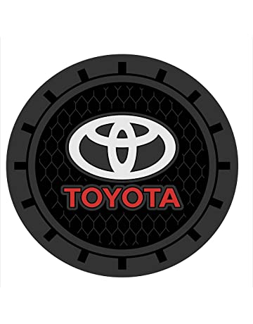 Auto sport 2.75 Inch Diameter Oval Tough Car Logo Vehicle Travel Auto Cup Holder Insert Coaster