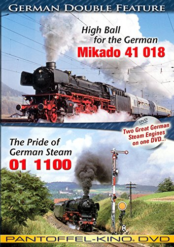The Pride of German Steam 01 1100 - High Ball for the German Mikado 41 018