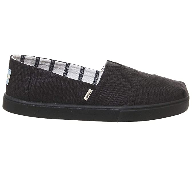 Amazon.com | TOMS Womens Alpargata Cupsole Canvas Shoes | Fashion Sneakers