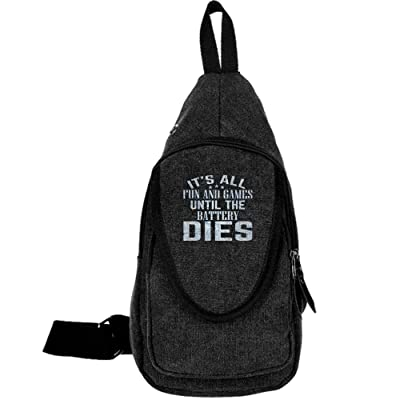 SOME PEOPLE JUST NEED A PAT ON THE BACK Fashion Men's Bosom Bag Cross Body New Style Men Canvas Chest Bags