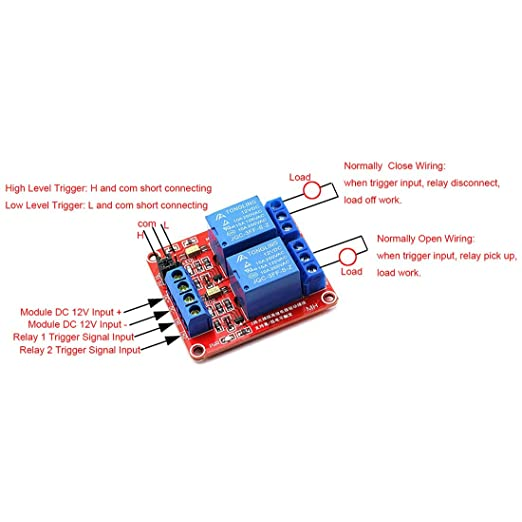 12v Trigger Relay Wiring - Wiring Diagram Img on