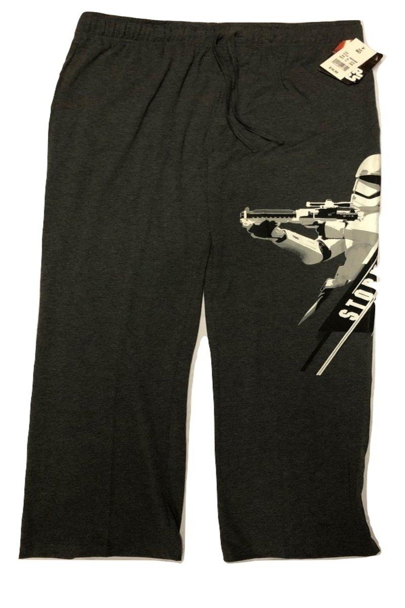Star Wars Stormtrooper Mens Lounge Pants (L, Charcoal)