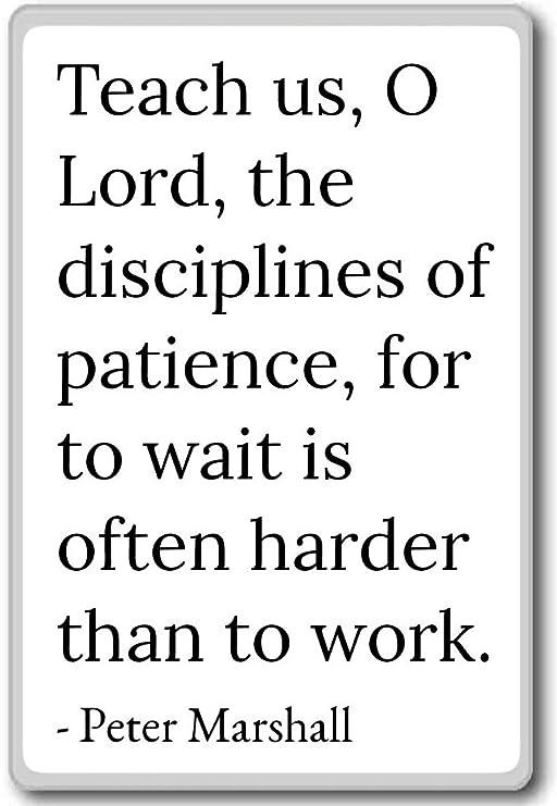 Enseñar US, o Lord, las disciplinas de patienc... - Peter Marshall ...