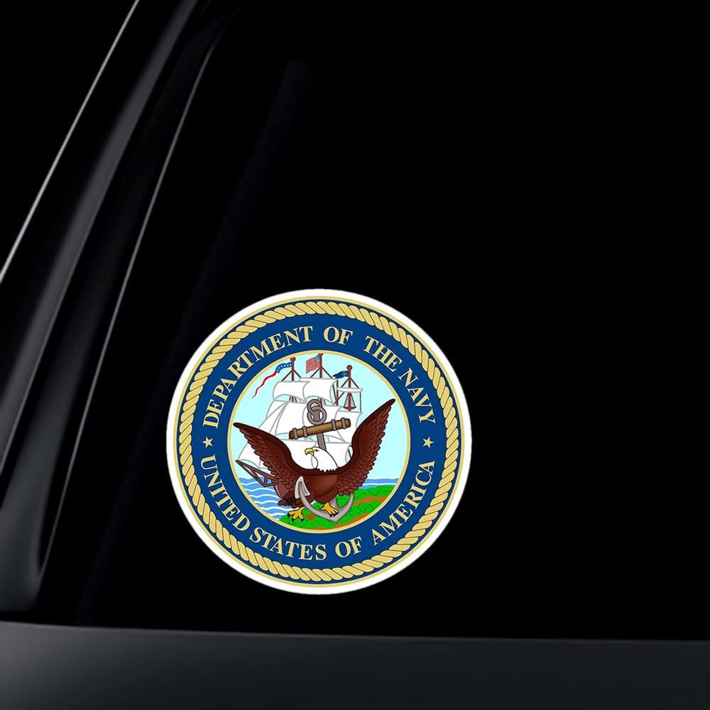 US NAVY USN ANCHOR MILITARY SEAL STICKER  DECAL EMBLEM FOR CAR RV TRUCK