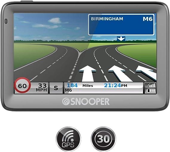 Snooper Truckmate Eu S5100 5 Screen Truck Sat Nav Mit Eingebautem Tmc Und Verbesserter Kartierung Navigation