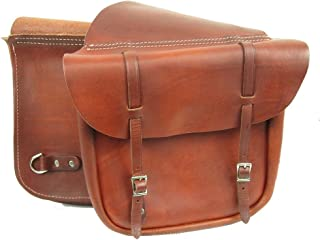 product image for MacPherson Leather Western Saddle Bags
