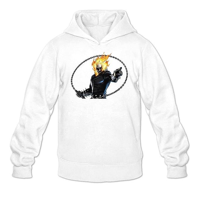 kittyer hombre Ghost Rider manga larga Sudaderas Sudadera Con Capucha XXL: Amazon.es: Ropa y accesorios