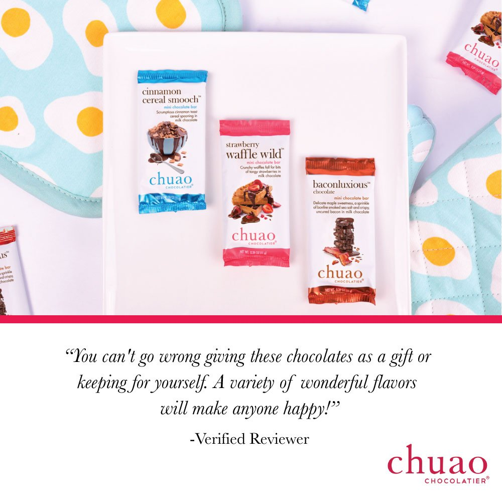 Chuao Chocolatier: Set de chocolates para regalo, prueba La ...