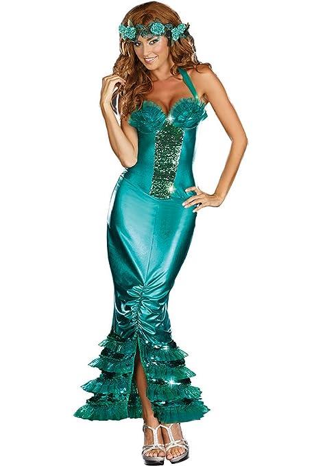 New Para Mujer Brillante Verde Vestidos Largos Fancy De La