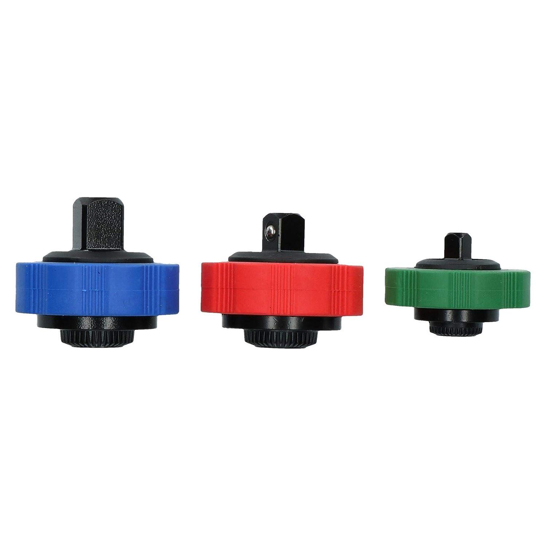 Thumbwheel Palm Ratchet Socket Spinner Set 1/4' 3/8' and 1/2' Drive AB Tools