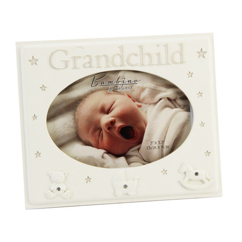 Widdop Bambino Baby Grandchild Photo Frame (One Size) (White) UTSG14161_1