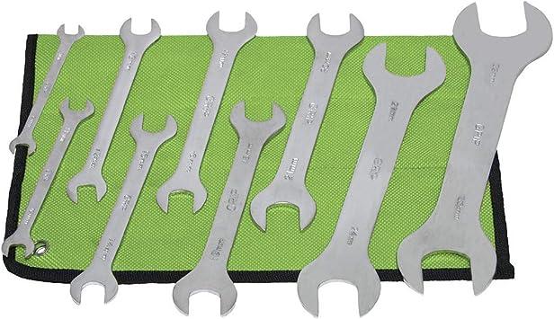 Capri Tools 16 mm x 17 mm Super-Thin Open End Wrench Metric Renewed