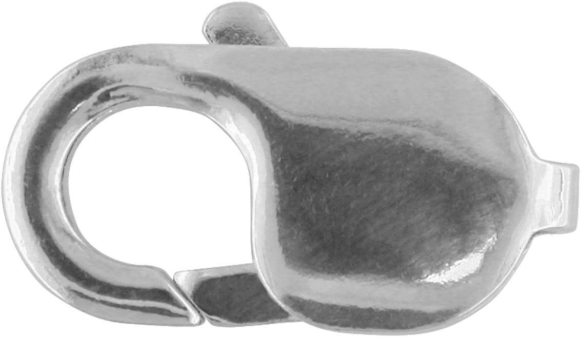 10x Véritable Argent Sterling 8 mm griffe Mousqueton Trigger Fermoir