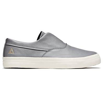8339cd549a Amazon.com  HUF Dylan Slip-On (Grey) Men s Skate Shoes  Shoes