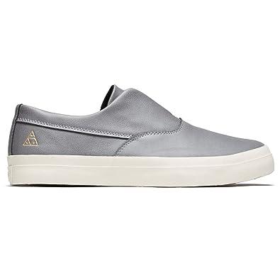 051c0e30dd86 Amazon.com  HUF Dylan Slip-On (Grey) Men s Skate Shoes  Shoes