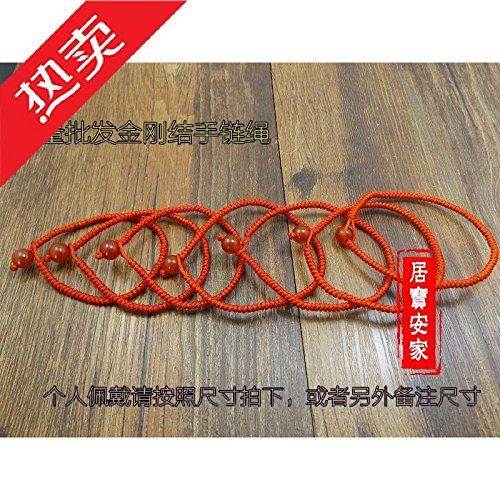 - Diamond knot bracelet red string bracelet couple Onyx Bracelet Black snow couple girls