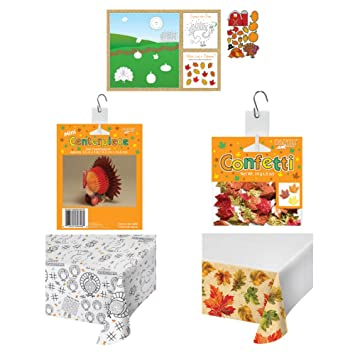 Amazon Com Thanksgiving Table Decorations Set Adults And Kids