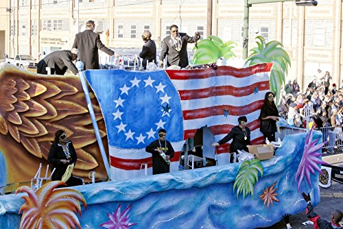 Patriotic Float with Stars & Stripes Poster Print by Carol Highsmith (18 x -