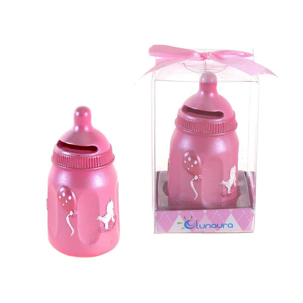 トミカチョウ Lunaura Baby Keepsake - Pink Set of Favors 12 Girl Baby Lunaura Bottle Coin Bank Favors - Pink by Lunaura B00NEWCU0Y, 南牟婁郡:8dccecdf --- narvafouette.eu