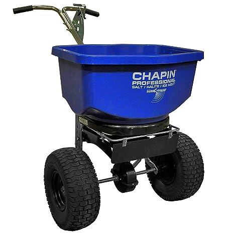 Chapin 82108 100-Pound profesional esparcidor de sal y el hielo derretido): Amazon.es: Jardín