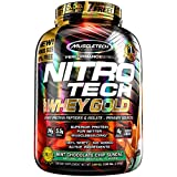 MuscleTech NitroTech Whey Gold, 100% Whey Protein Powder, Whey Isolate and Whey Peptides, Mint Chocolate Chip, 5.5 Pound Review