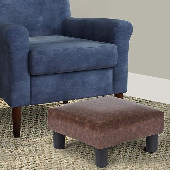 Adeco 15 Small Ottoman Footstool
