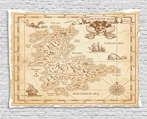 map-tapestry-island-decor-by-ambesonne-old-ancient-antique-treasure-map-with-details-retro-color-adv