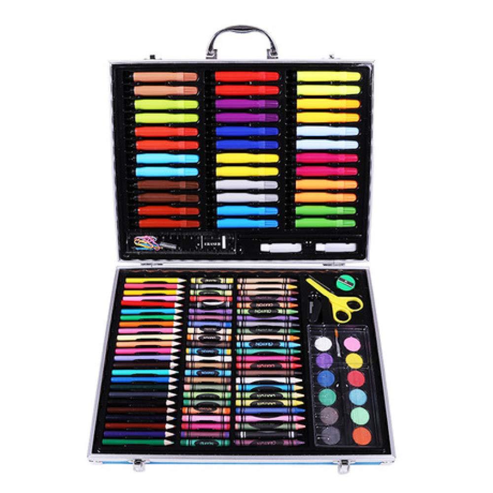 Art JKWL Set di Pittura per Bambini Set di pennelli da 150 Pezzi, Set di Penne a Olio per Bambini