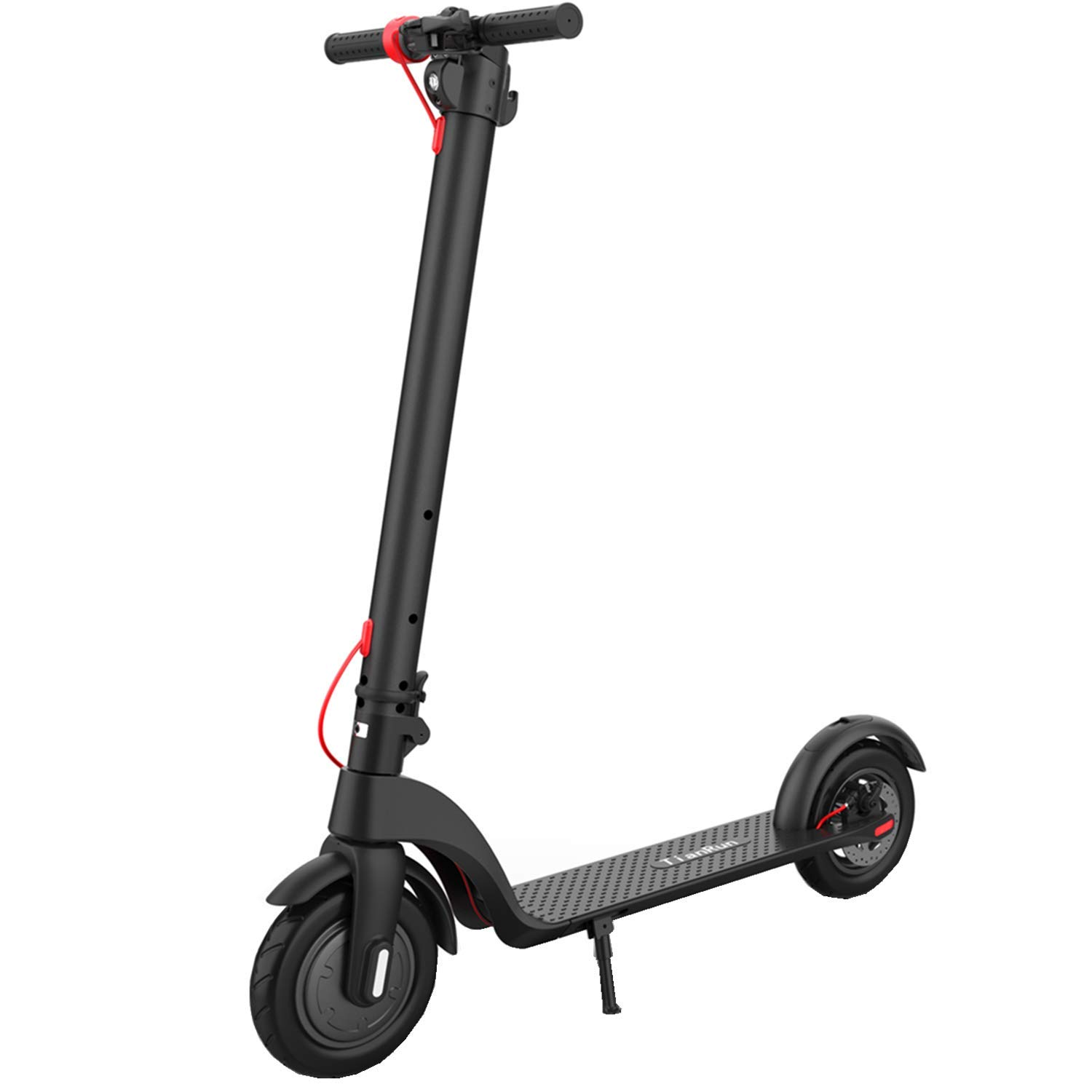 8.5 inch Pneumatic Air Tires Commuter E-Scooter Bicycle for Adult Teenage TRX7 TianRun Foldable 8.5 Electric Scooter,Detachable Battery,20-25km//h,13-16Km Ranges,IP54,Max Load120kg,LCD Display