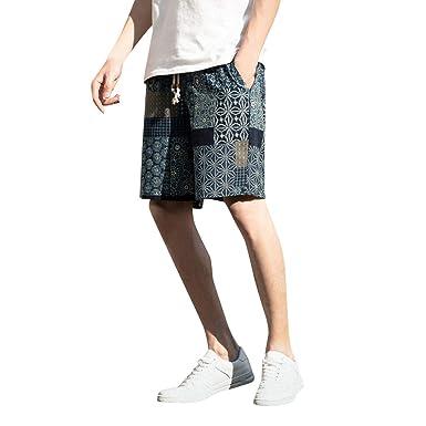 Cocoty-store Pantalones 2019 Hombre Cinturón de cintura elástico ...