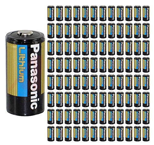 A Battery CR123 CR 123 Lithium 3V Photo Batteries Bulk ()